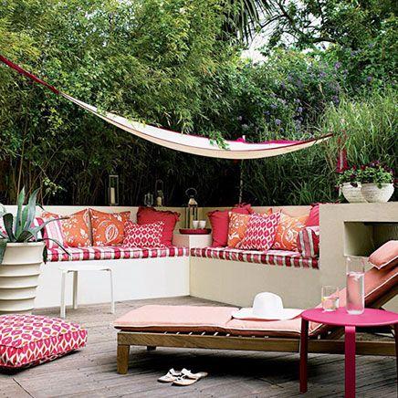 Roze tuin ideeën | Inrichting-huis.com