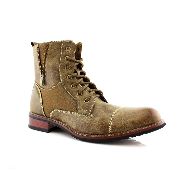 Ferro Aldo Andy MFA808561 Men's Combat Boots For Work or Casual Wear