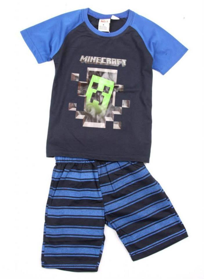 Minecraft Sleepwear For Boys Kool Kids Clothing Shop