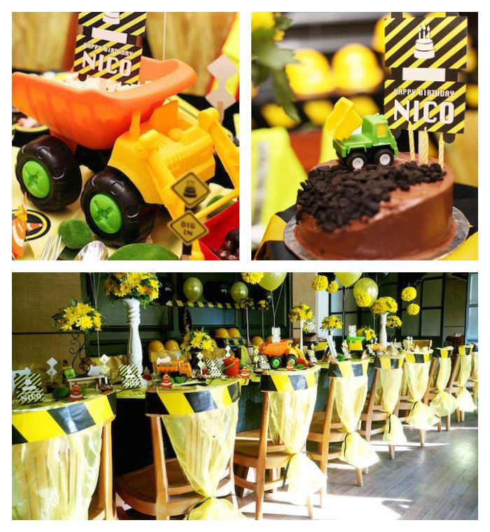 Construction Birthday Party Food Ideas: 136 Best Images About Tool Party On Pinterest