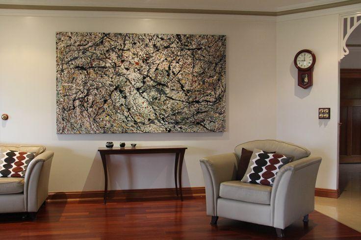 Kerri Warren displayed in a home. Copyright © Kerri Warren