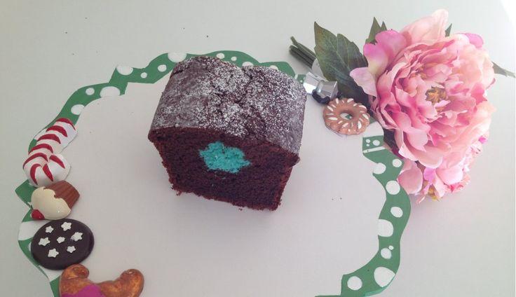 Plumcake con sorpresa | surprise chocolate cake recipe