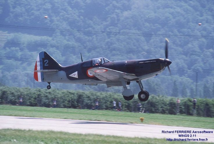 French Dewoitine D-520.