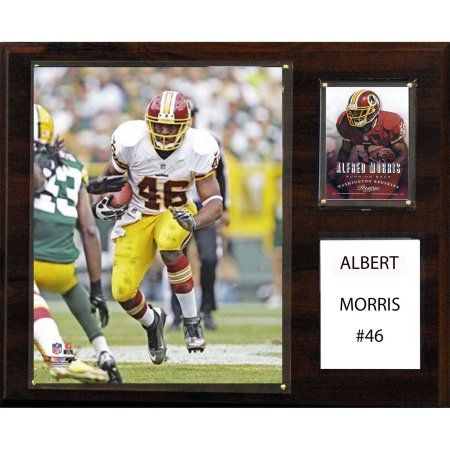 C Collectables NFL 12x15 Alfred Morris Washington Redskins Player Plaque