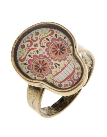 calavera ring Accessories / fashion / skeletal / skulls / unique. Cool shits!