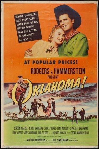 Oklahoma Movie Poster 24Inx36In Poster