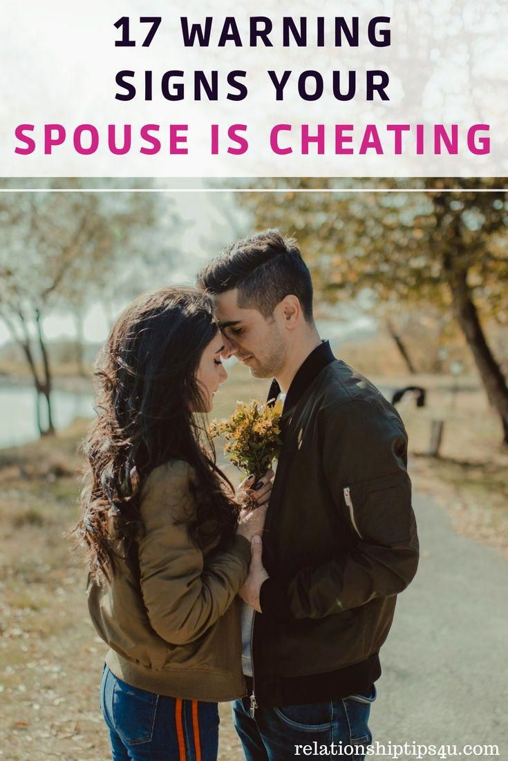 What to do if you suspect your spouse is cheating