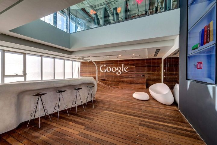 If you want to see crazy offices, google definitely does its best to keep employees creative... Google office by Camenzind Evolution & Setter Architects & Studio Yaron Tal, Tel Aviv office design