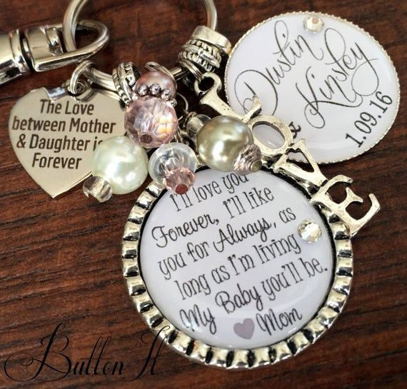 Gift To Bride From Mom Wedding Gift To Bride Mom Photo Etsy In 2020 Daughter Wedding Gifts Daughter In Law Gifts Wedding Bouquet Charms