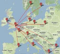 Trip around Europe for family