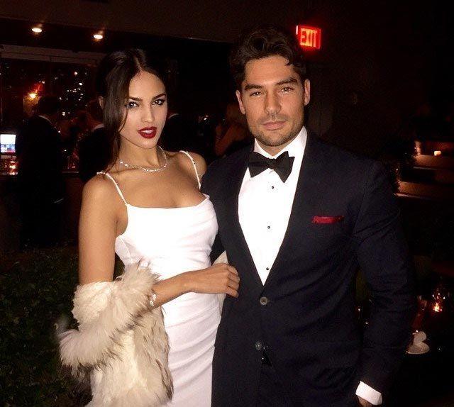 Eiza Gonzalez and boyfriend DJ Cotrona...