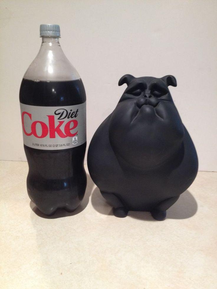 Vintage Large Bulldog Statue - Austin Sculpture 1997 - Danel