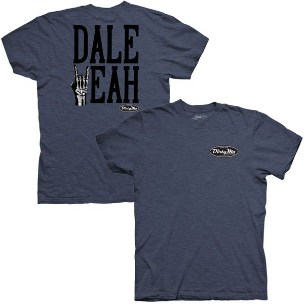 Dale Earnhardt Jr. JR Motorsports Team Collection Dale Yeah T-Shirt - Navy - $20.99