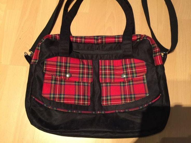 messenger bag tasche handtasche tartan schottenkaro. Black Bedroom Furniture Sets. Home Design Ideas