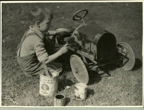 vintage pedal car restoration