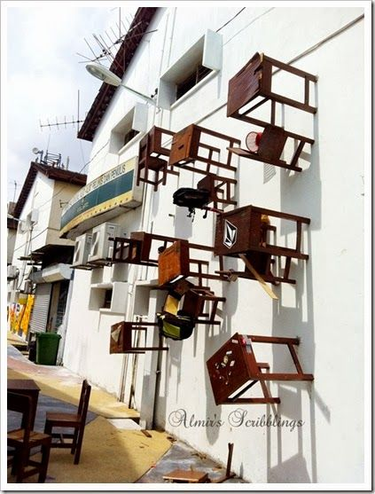 Sekolah dinding. Shah Alam Street Art @ Laman Seni Shah Alam