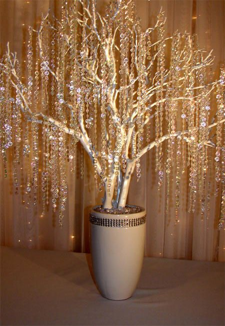 Icicle tree....soooo sparkly!  I <3 it!!!