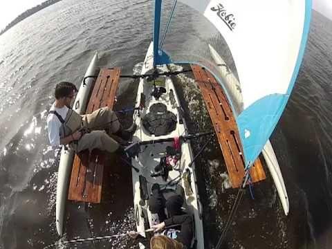 Haka Testing on Hobie Tandem Island