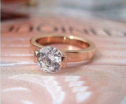 rose gold wedding ring women - Google Search