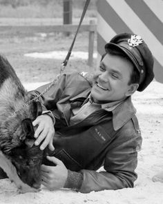 Bob Crane & GSD from Hogan's Heroes