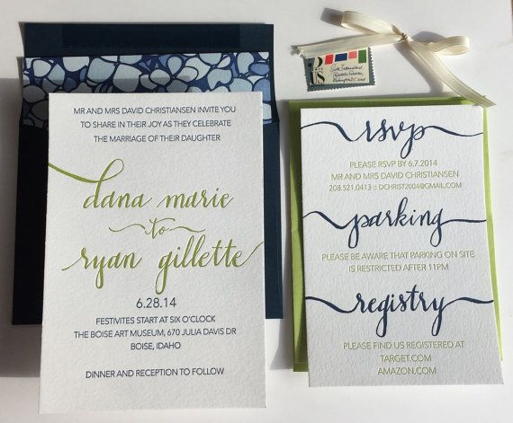 Hey, I found this really awesome Etsy listing at https://www.etsy.com/listing/202652941/letterpress-wedding-suite-custom-wedding