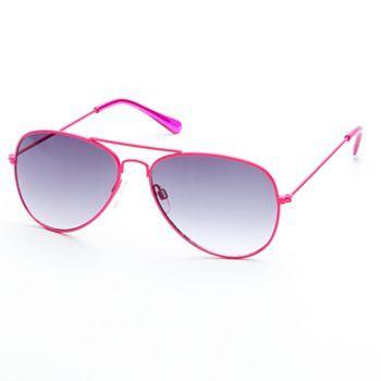 SO Color Aviator Sunglasses #Kohls