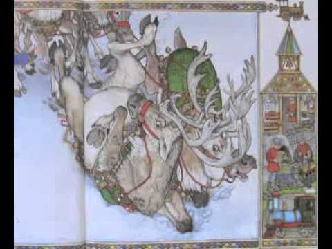 ▶ The Wild Christmas Reindeer by Jan Brett - YouTube  Another excellent reading of a great book!!! :)