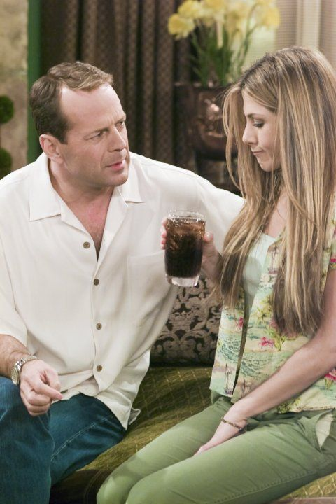 Paul Stevens (guest star Bruce Willis), Rachel Green ...