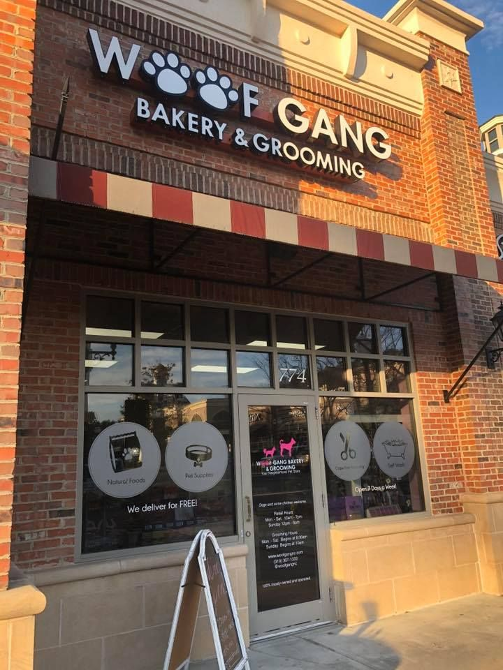 We Are Happy To Announce That The New Woof Gang Bakery Apex Store