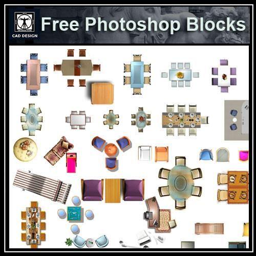 Free Photoshop Psd Chinese Furniture Blocks 2 素材 Pinterest