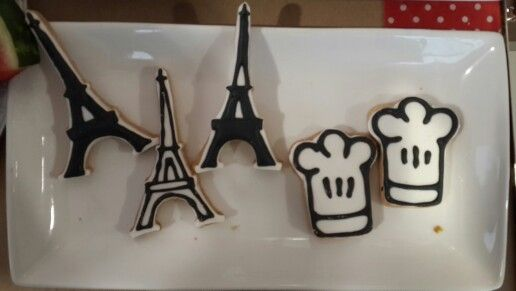 Chef ratatouille party cookies