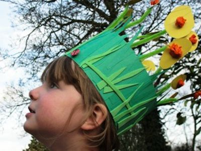 A quick and easy Easter Bonnet