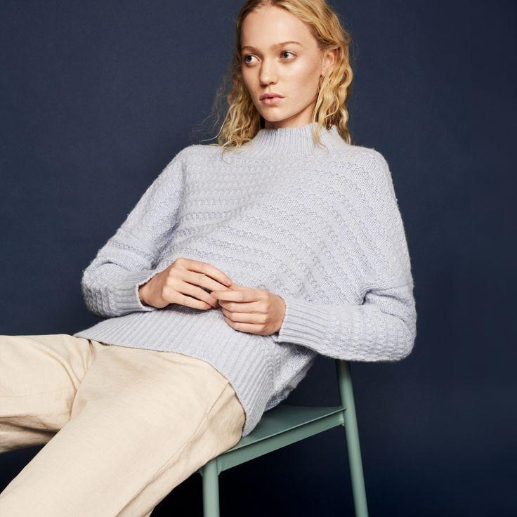 FWSS He's Dead kentucky blue chunky knit - FWSS - Fall Winter Spring Summer - shop online