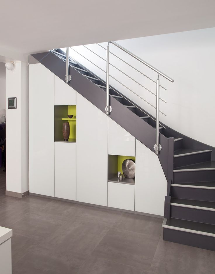 Les 25 meilleures id es de la cat gorie placard sous escalier sur pinterest rangement sous Meubles sous escalier idees amenagement