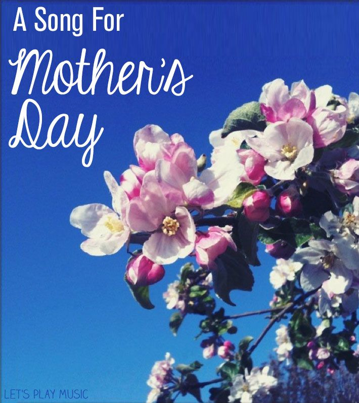 Simple Mother's Day song for little ones to sing for their Mummy!