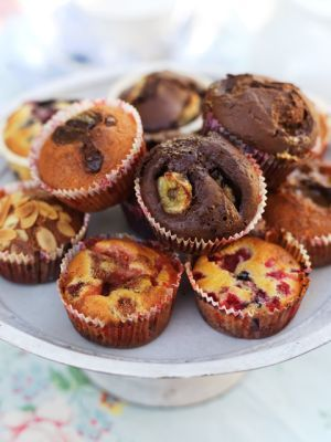 Leilas muffins, grundrecept
