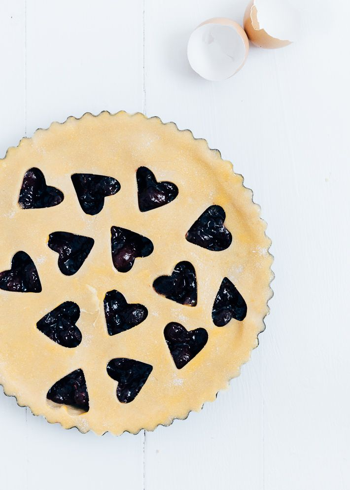 kersentaart - cherry pie