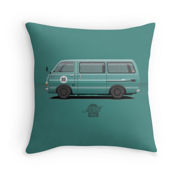 Hiace H20 80's #Toyota #Toyotahiace #buyit #merchandise #pillows #jdm #van #vanning #lowered #racing #becauseracecar