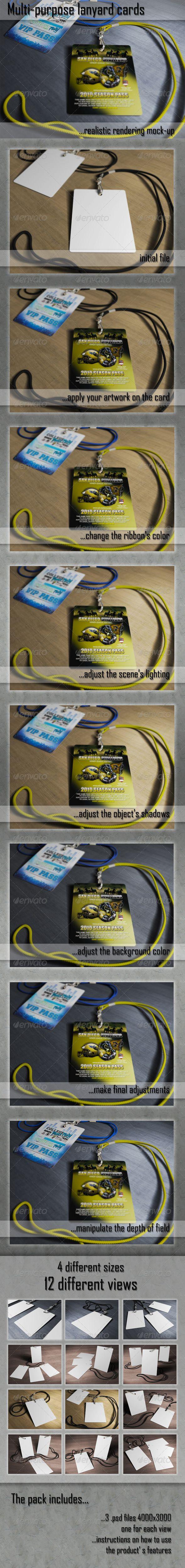 Multipurpose Hanging Card Mockups Download here: https://graphicriver.net/item/multipurpose-hanging-card-mockups/4495809?ref=KlitVogli