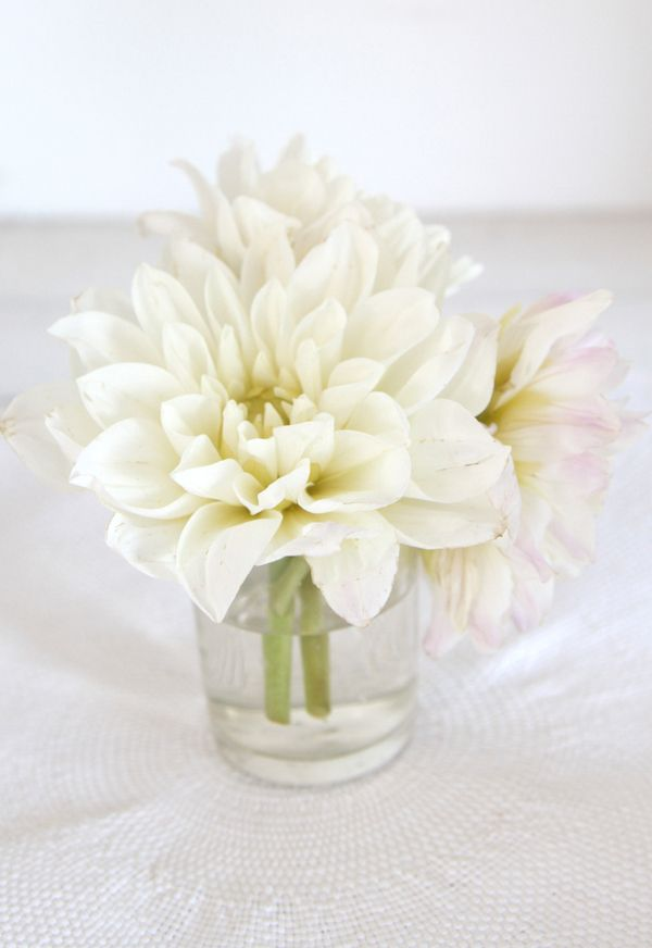 white-flower-centerpiece-classic-elegant-simple
