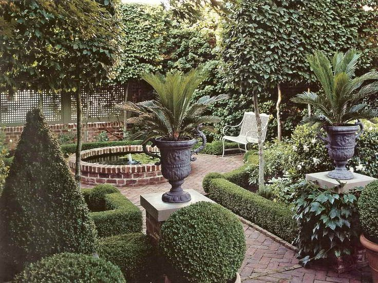10 images about french and italian gardens on pinterest for Italian garden design