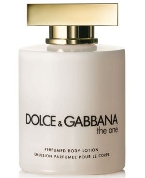 DOLCE & GABBANA THE ONE PERFUMED BODY LOTION, 6.7 OZ. #dolcegabbana #