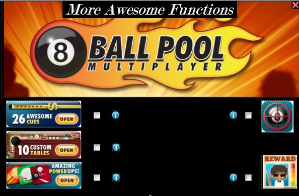 Miniclip 8 Ball Multiplayer Pool Cheats & Hacks Free