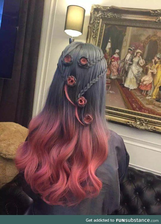 Awesome hair dye
