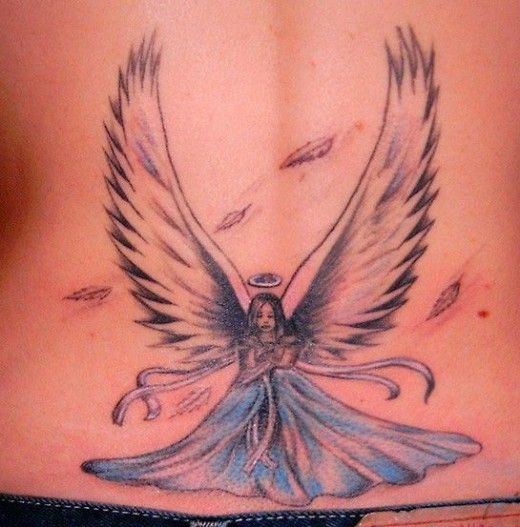 99 Breathtaking Angel Tattoos With Meaning: 17 Best Images About Angel Tattoos On Pinterest