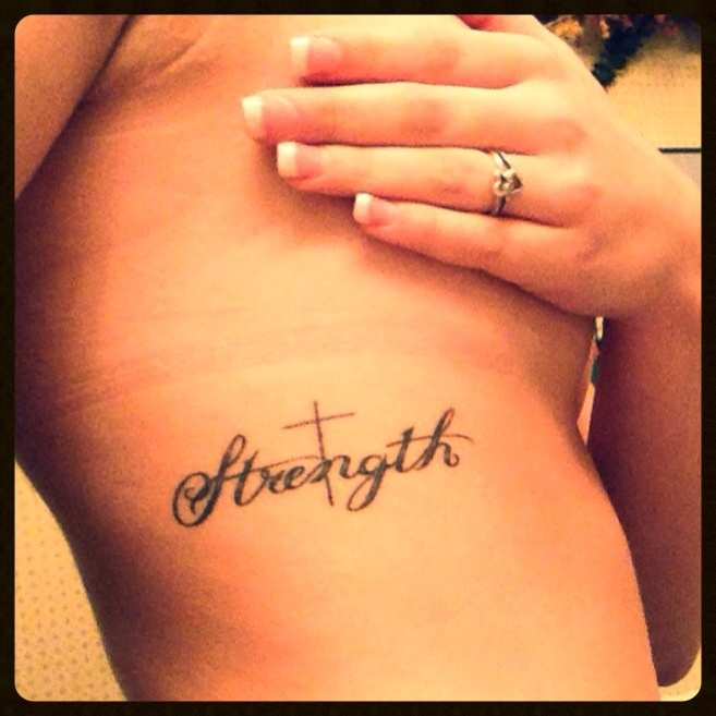 Small rib tattoo... probably wont ever get one, but I like this as far as tattoos go