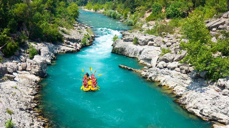 Manavgat River, Manavgat, Antalya/Turkey
