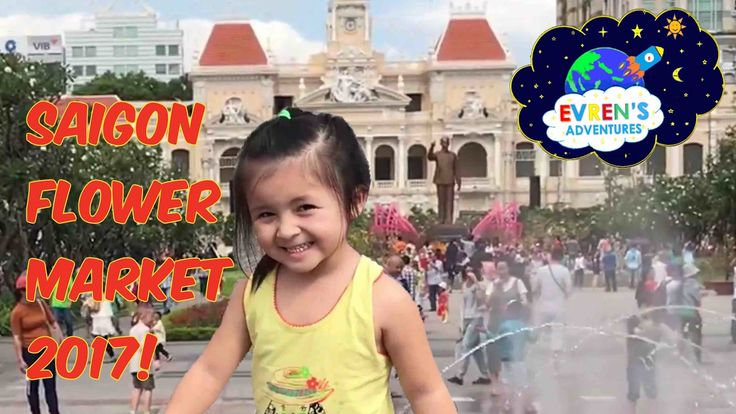 FAMILY FUN VACATION Trip Chinese New Year Fun Activities for Kids!  Saigon Flower Market 2017. Join Evren and Evren's family had lots of Family Fun playtime in a very hot summer day in Saigon during Vietnam Tet 2017. Evren loves this water play park and it's such a great way to cool off and had a family fun time. There were many kids, children, and other family there at this Fun Kid size water play park. We then visited Saigon famous flower market and had lots of fun Family Outdoor…