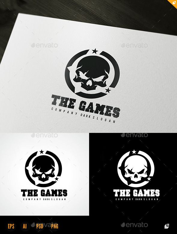 The Games - Humans Logo Templates