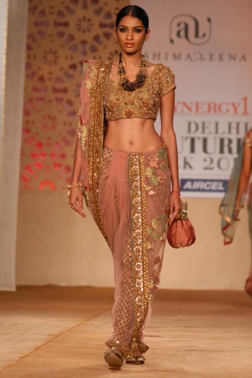 Ashima Leena http://www.ashima-leena.com/ at the Delhi Couture Week